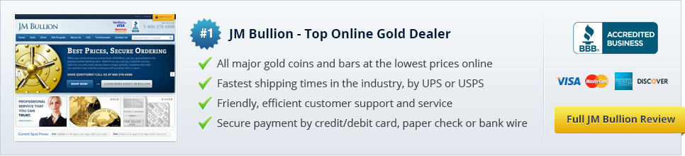 JM Bullion - Top Online Gold Dealer