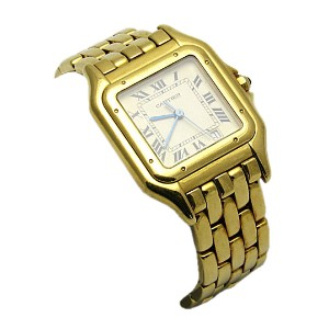 A Gold Watch by Cartier