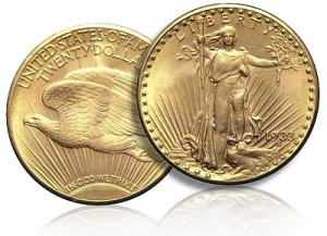 A Gold Double Eagle